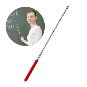 TINKSKY Hand Pointer Extendable Telescopic Retractable Pointer Handheld Presenter Classroom Whiteboard Pointer