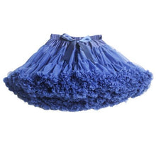 Buenos Ninos Family Fitted Pettiskirts Fluffy Chiffon tutu skirts girls Princess Dance Party Tulle Skirt Free Shipping Petticoat
