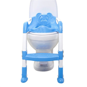 Baby Toddler Potty Training Toilet Chair Seat Step Ladder