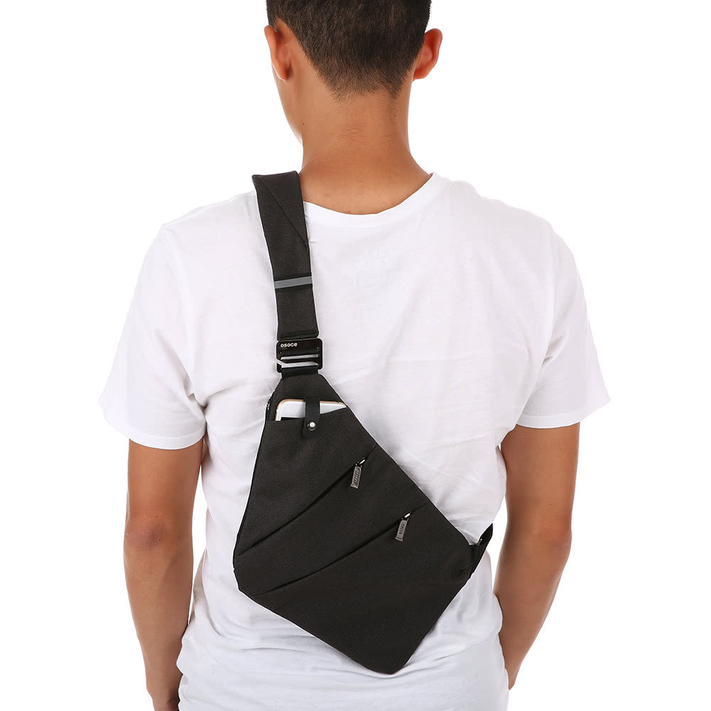 Unisex Sling Backpack Chest Bag