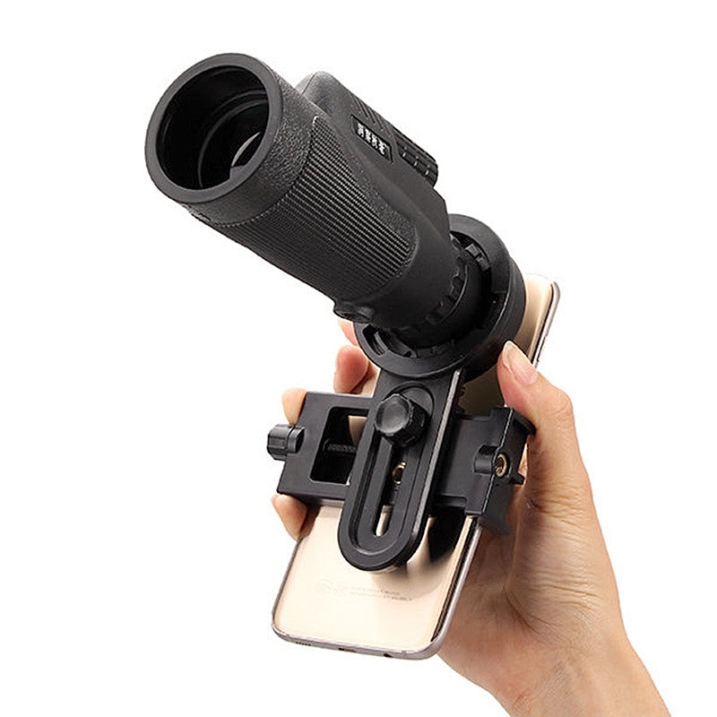 Universal 12x50 Model 12X Monocular Zoom HD Telescope Cell Phone Lens Observing Survey Camping Telescope With Clip For Smartphones