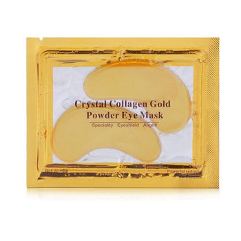 20pcs=10packs Natural Gold Crystal Collagen Eye Mask Women Eye Care Masks Moisturizing Anti-Wrinkle Remove Black Eye Patches