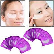 20 pairs Comfortable Natural Women Under Eye Pads Patches Anti-Wrinkle Dark Circle Remove Eye Patches Pad Mask Makeup Tool