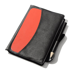 Big Size General Soccer Referee Warning Cards and Wallet Red Card Yellow Card Set with Pencil and Leather Cover