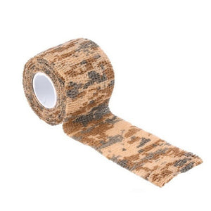 Adhesive Tape Desert Tape Self-adhesive Grid Masking Tapes Non-woven Camouflage Tape