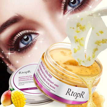 40pcs/bottle 80G Natural Golden Osmanthus Eye Mask Anti-Wrinkle Moisturizing Remove Black Circle Face Eye Skin Care Mask Patches