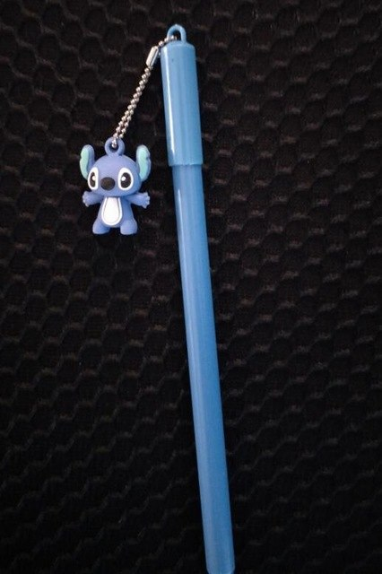 Cartoon Character Totoro Bear Stitch Pendant Gel Pen Signature Pen Escolar Papelaria School Office Supply Promotional Gift