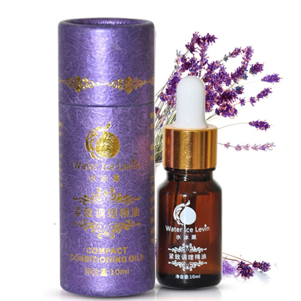 Natural Lavender Essential Oil Pure Moisturizer Shrink Pores Skin Care Acne Treatment Scar Repair Removal Burn Scarring Skin