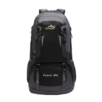 60L Large Capacity Lightweight Outdoor Military Tactical Climbing Mountaineering Backpack Oxford Cloth Trekking Rucksack