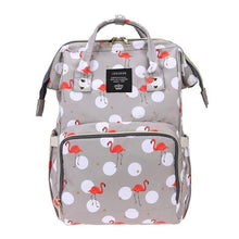 Fashion Mummy Diaper Bags Women Travel Backpack Animal Print Large Capacity Mummy Maternity Nappy Bag Baby Milk Bottle Toys Bag