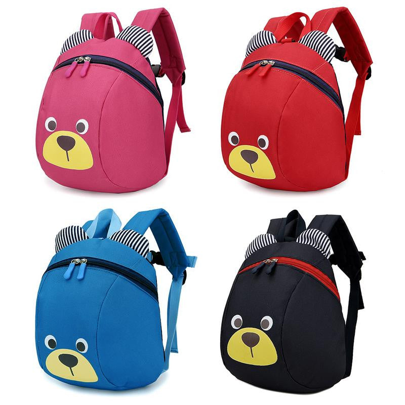 Cartoon Children Backpack Cute Anti-lost Backpack With Traction Rope