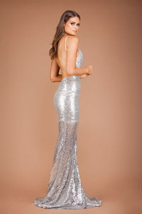 Sylvesta Sequin Gown