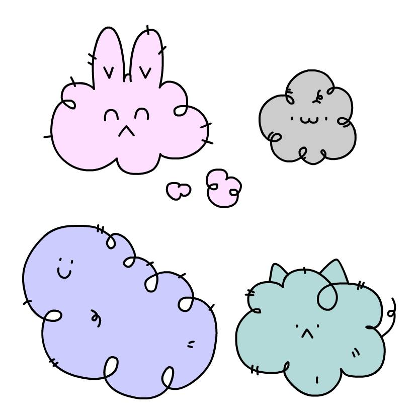 DUST BUNNY & FRIENDS