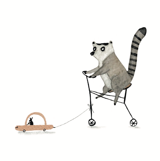BIKING MR. LEMUR
