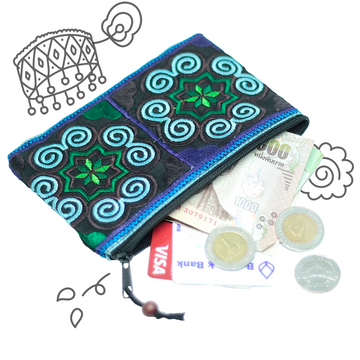 Coin Purse (Blue)