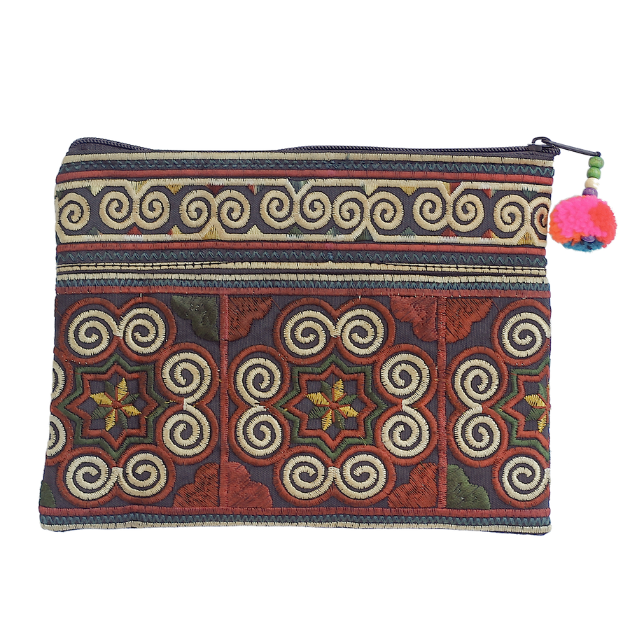 Sabai Jai Chocolate Cosmetic Pouch bag