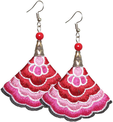 Boho Earrings (Pink)