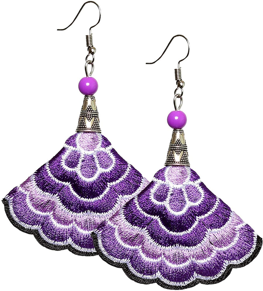 Boho Earrings (Purp)