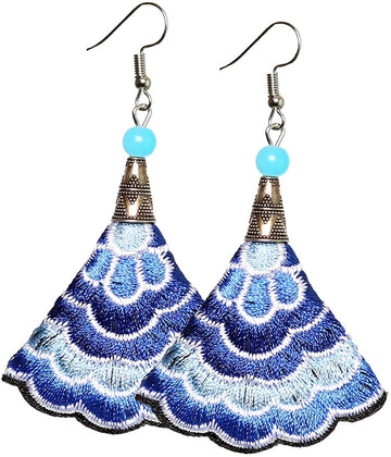 Boho Earrings (Blue)