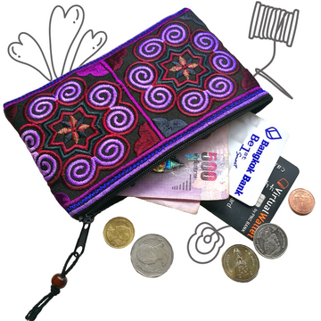 Coin Purse (Purple)