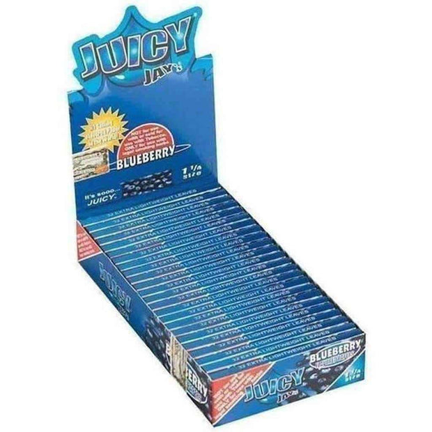"Juicy Jay's Blueberry 1 1/4"" Rolling Papers"