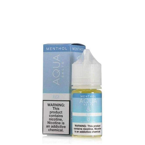 Aqua Salts E-Liquid Menthol - 30ml