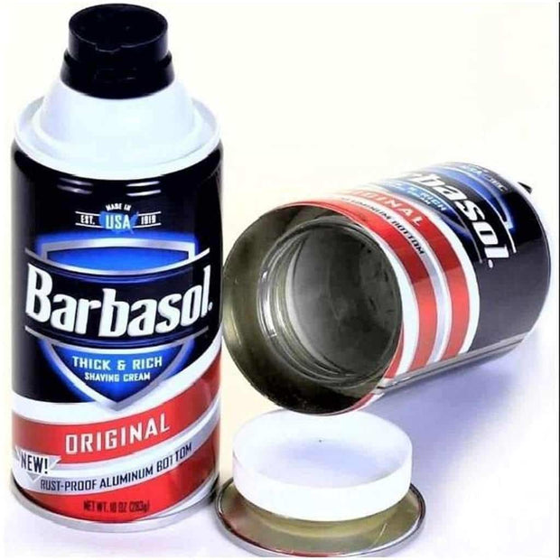 Barbasol Safe Can
