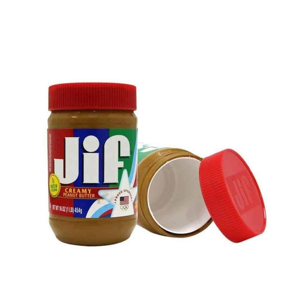 JIF Creamy Peanut Butter Safe Can