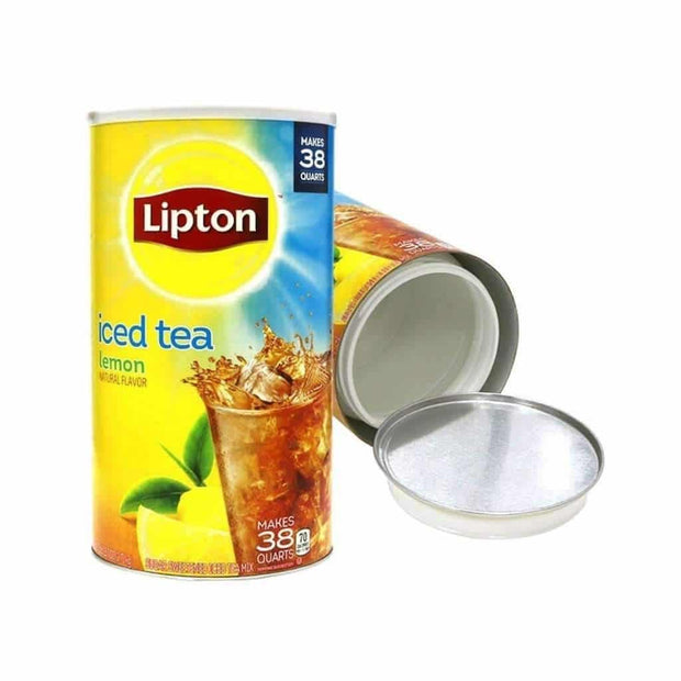 Lipton Iced Tea Lemon Safe Can - Large (38 Quarts)