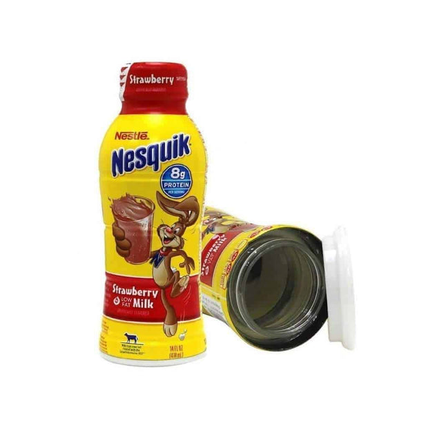 Nesquik Milk Bottle Safe Can