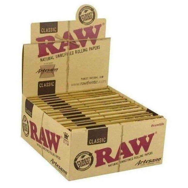 RAW Artesano - King Size Rolling Papers with Tips