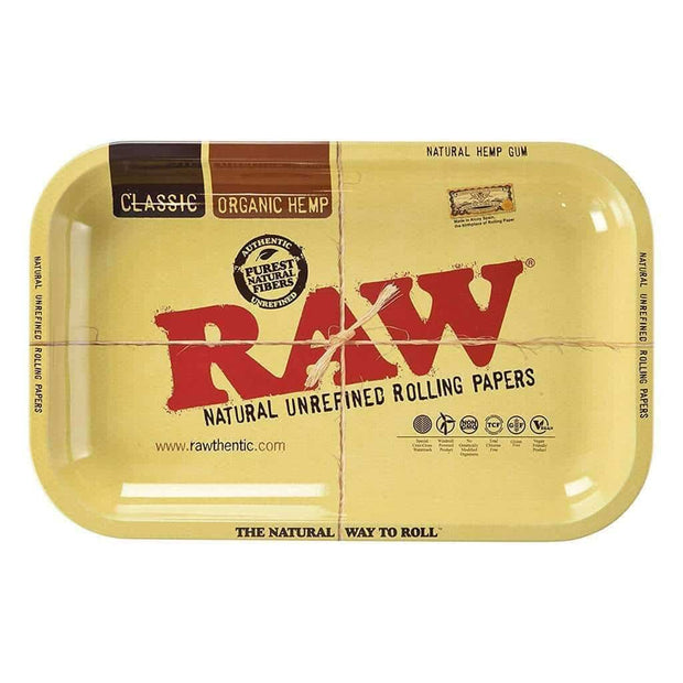 "Raw Rolling Tray - Medium 7"" x 11"" Inches"