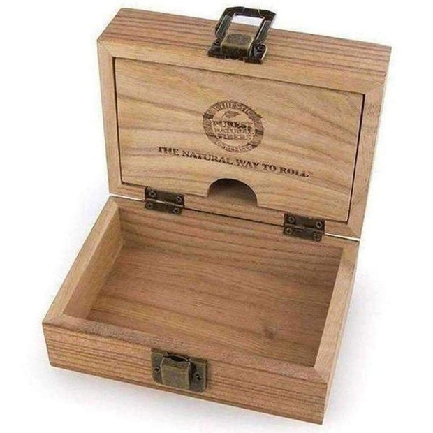 Raw Wooden Stash Box