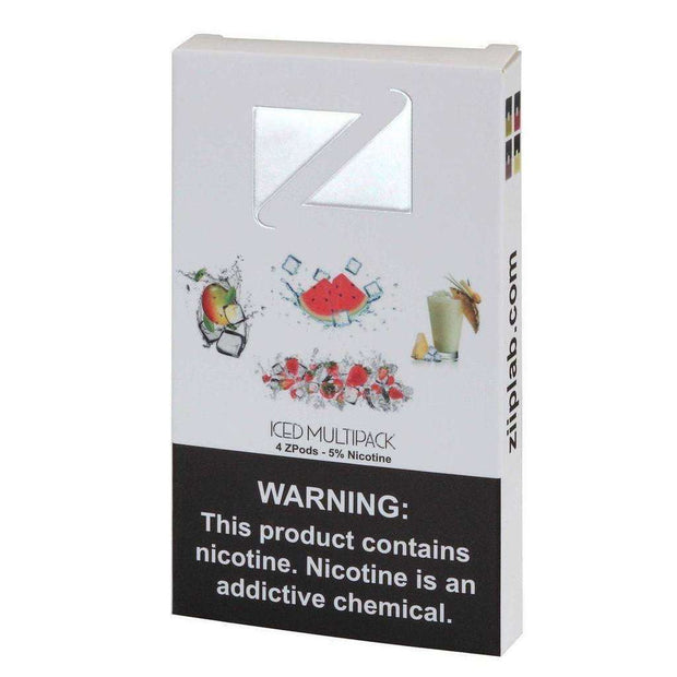 Ziip Pod Iced 10x Count Display-Vape Pods-ZIIP LAB-Iced Multipack-Vape In The Box