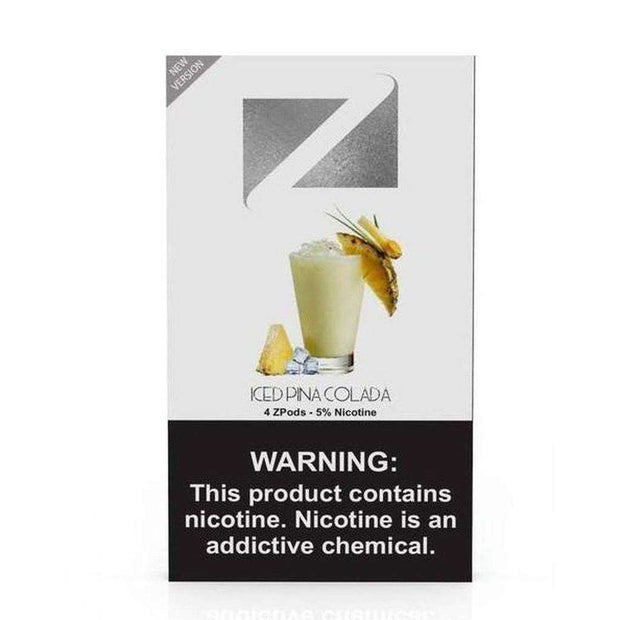 Ziip Pod Iced 10x Count Display-Vape Pods-ZIIP LAB-Iced Piña Colada-Vape In The Box
