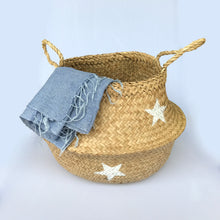 Set of 3 Large Rice Baskets - Star