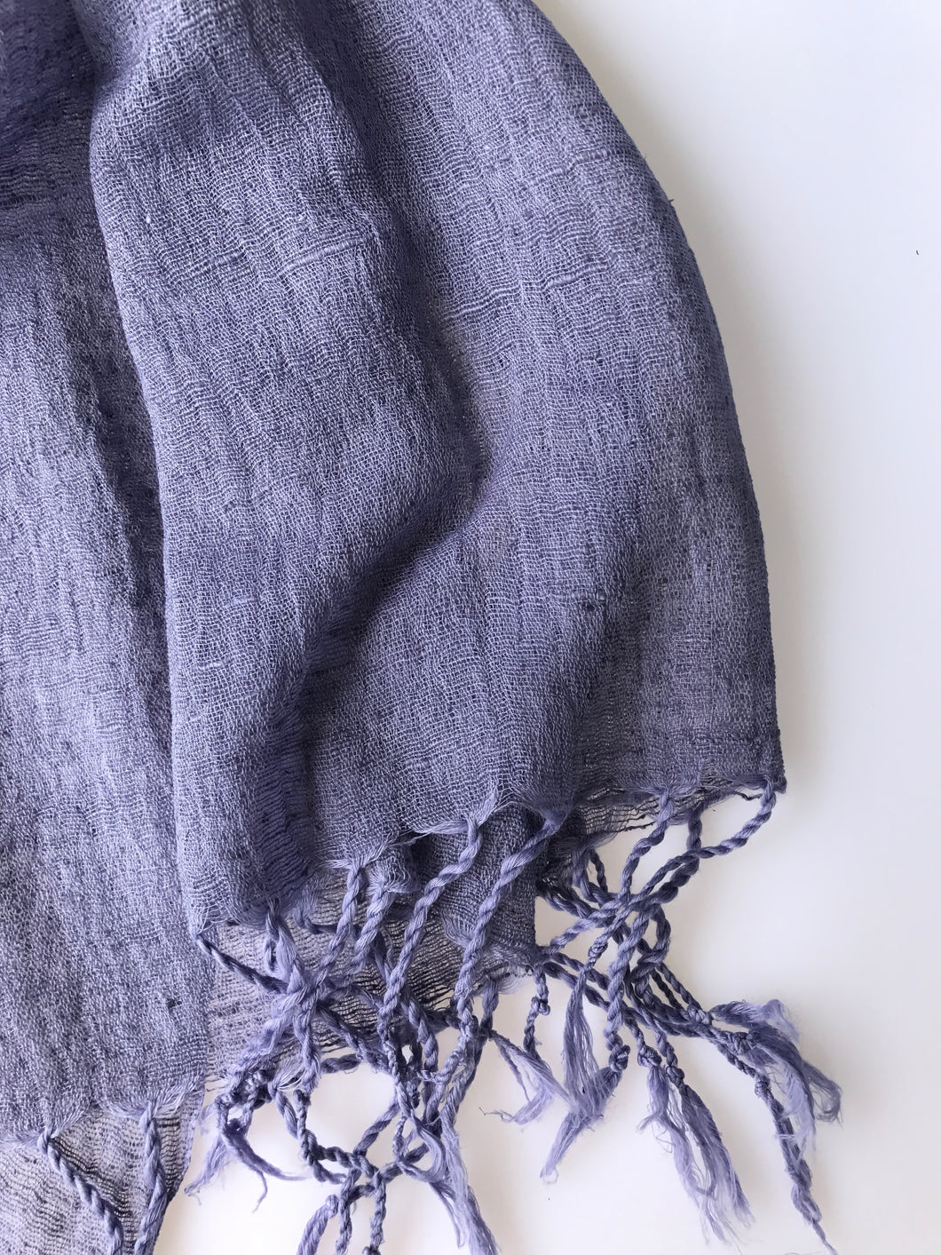 Pleasant Scarf - Silk & Cotton