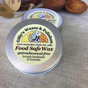 Gilly's Food Safe Wax 50mls