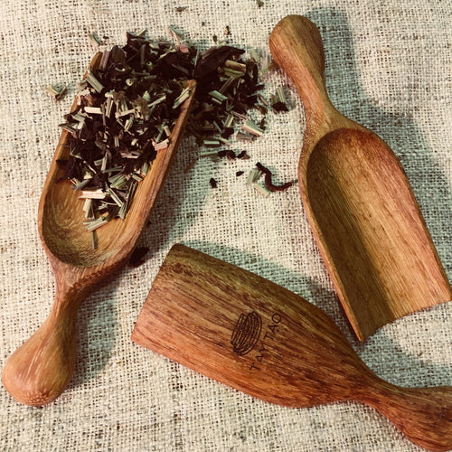 Wooden Tea Scoop - Stockist Only Product