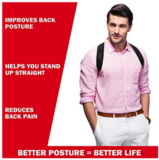 Posture Corrector for Men and Women - Blissful Delirium