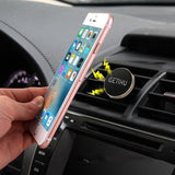 Car Holder Mini Air Vent Mount Magnet with Bracket Stand Support - Blissful Delirium