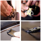 20 in 1 Multi-function Screwdriver Wrench Pliers Opener Keychain EDC Pocket Multi Tool - Blissful Delirium