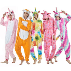 Unicorn Pajamas Animal Costume Cosplay Onesie