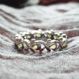 Fashion Jewelry - Ring - Glowing in Dark Luminous Ring Silver Color Vintage For Valentines - Blissful Delirium