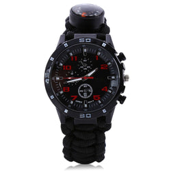 Emergency 6 in 1 Outdoor Survival Watch - Blissful Delirium