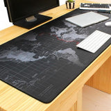 """Command Centre"" XXXL World Map Gaming Mouse Pad - Blissful Delirium"