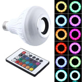 Lumiparty Singing LED Light Bulb E27 with Bluetooth Speaker and Remote Control - Blissful Delirium