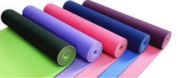 Non-slip TPE 6mm Thick Yoga Mat - Blissful Delirium