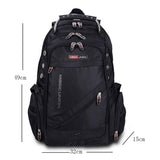 Men's Travel Backpack Polyester Bags Waterproof - Blissful Delirium