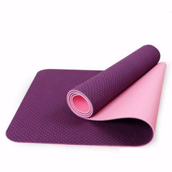 Eco Friendly TPE Non Slip Yoga Mat - Blissful Delirium